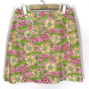 Lilly Pulitzer White Label Alligator Pencil Skirt